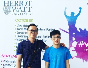 I talked to EduSpiral on WhatsApp and after obtaining all the necessary information. EduSpiral met me and my parents at Heriot-Watt University Malaysia to take us around for a tour. Aun Jie,  Chemical Engineering at Heriot-Watt University Malaysia