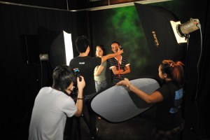 Broadcasting studio at IACT College
