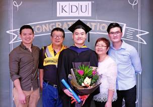 EduSpiral analysed my personality and results, subsequently advised me on choosing the right course as well as the best university that fit me. John Lai Wai Hong, Graduated in Mass Communication from KDU University College