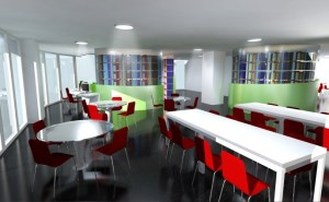 Library at IACT College