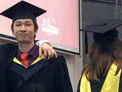 """EduSpiral helped me to transfer my Diploma & everything went smoothly. I also asked him to help my younger brother to find the the right university after his UEC"""". Haw Chieh, Graduated in Accounting from UCSI University"""