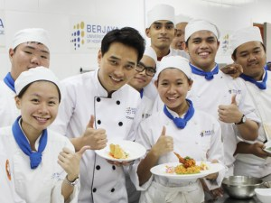 Korean Celebrity Chef Edward Kwon Appointed as Honorary Chef of BERJAYA University College of Hospitality
