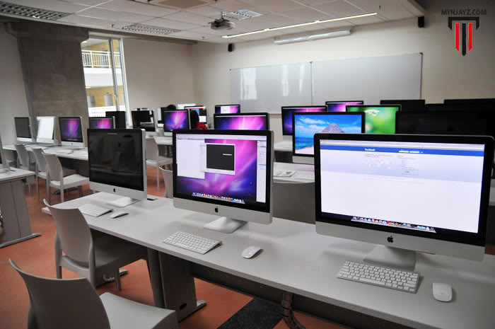 Computer lab at Taylor's University