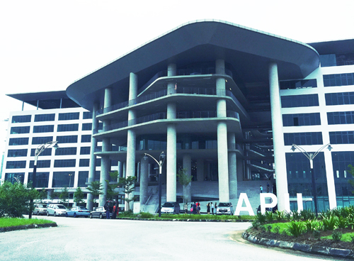 "Asia Pacific University (APU) is ranked Tier 5 or ""Excellent"" in the SETARA 2017 rating by MQA. APU is now operating at its new iconic campus at Technology Park Malaysia, Kuala Lumpur."