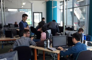 Computer lab at Asia Pacific University's new campus