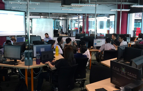 Asia Pacific University (APU) students have access to state-of-the-art computer facilities that include the latest PCs and workstations with Internet connection, operating systems, software suites and commercial programming software in multiple IT labs built for project work, multimedia production, software and internet programming.