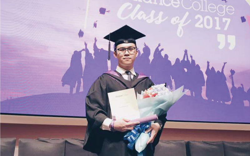 I didn't know which college fit me, so, EduSpiral took me to visit 4 universities to help me choose. Erwin, Graduated from Diploma in Hospitality & Tourism at Reliance College KL