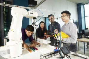 Mechatronic Engineering lab at Asia Pacific University (APU)