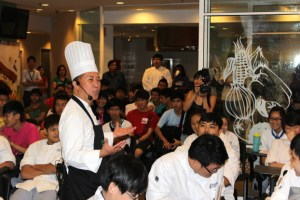 Chef Martin Yan's cooking demonstration at the Berjaya University College Hospitality