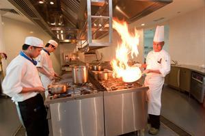BERJAYA University College Kitchen