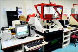 CNC Milling Machines at Rapid Prototyping Lab for Engineering students at Multimedia University (MMU) Melaka