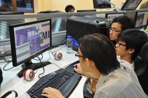 KDU Game Technology students