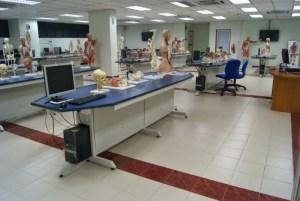 Anatomy suite at MAHSA University