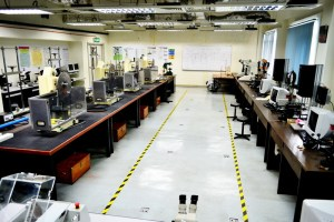 Material Lab for Engineering students at Multimedia University (MMU) Melaka