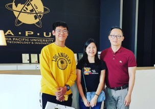 Mr. Lonnie from EduSpiral, guided us in our confusion of which course to take that has a high job demand & salary and after the counseling, we decided on Fintech. Bryan & Wen Kai, Fintech at Asia Pacific University (APU)