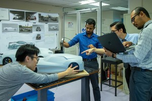 Clay Modelling Workshop for Design Students at Asia Pacific University (APU)