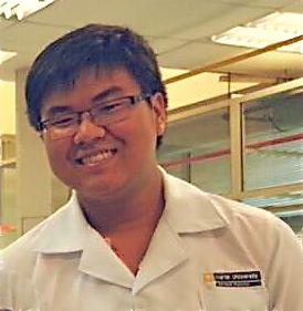 Ng Kai Chun at Chem Lab