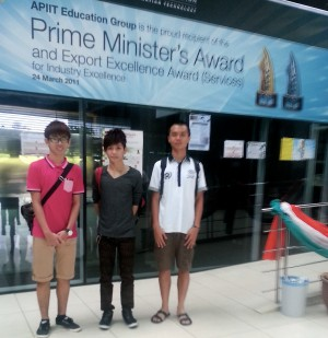 Yoong Sang, Asia Pacific University