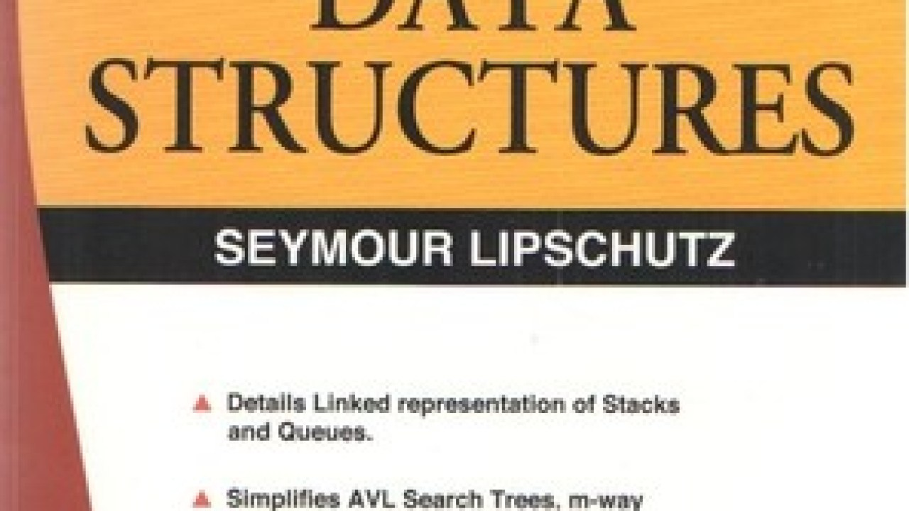 Data Structures With C – by Schaum Series PDF - EduTechLearners