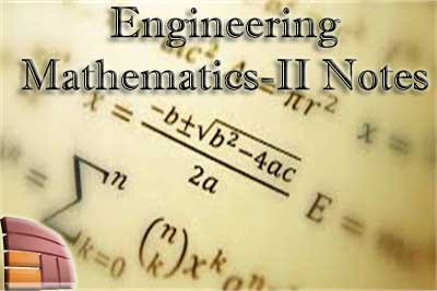 Engineering Mathematics -2 Notes