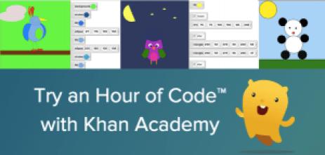 Khan academy hour of code