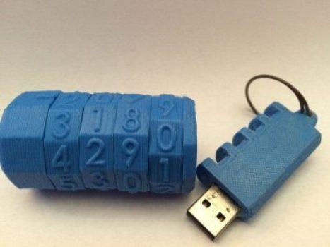 usb cryptic 3d print idea
