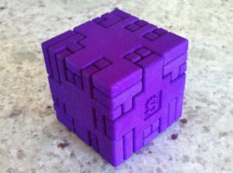 3d printed 3d puzzle