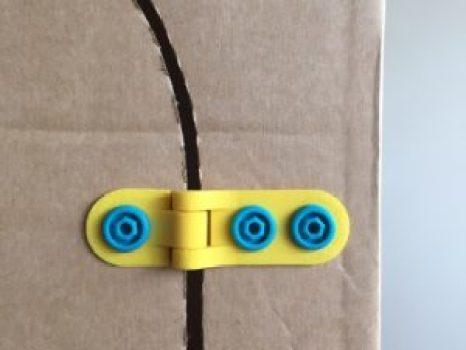 hinges for cardboard make