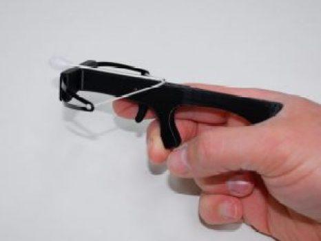 mini crossbow 3d printed