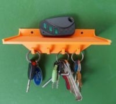 3d printed key holder