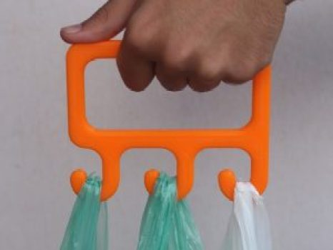 grocery bag carrier