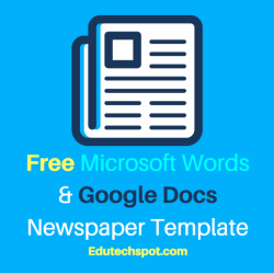 25 Free Google Docs Newspaper And Newsletter Template For