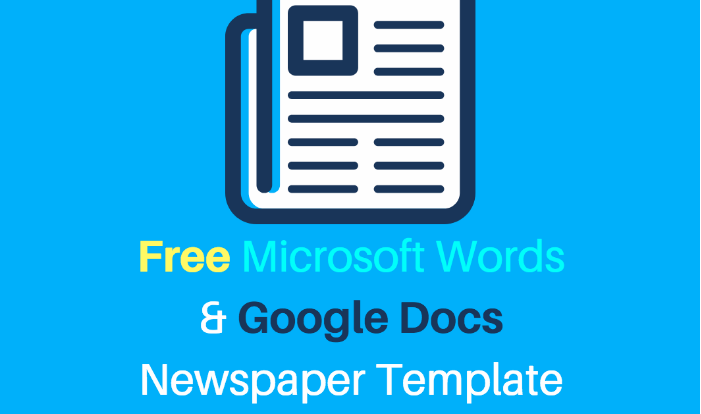 25 Free Google Docs Newspaper And Newsletter Template For Classroom And School Edutechspot