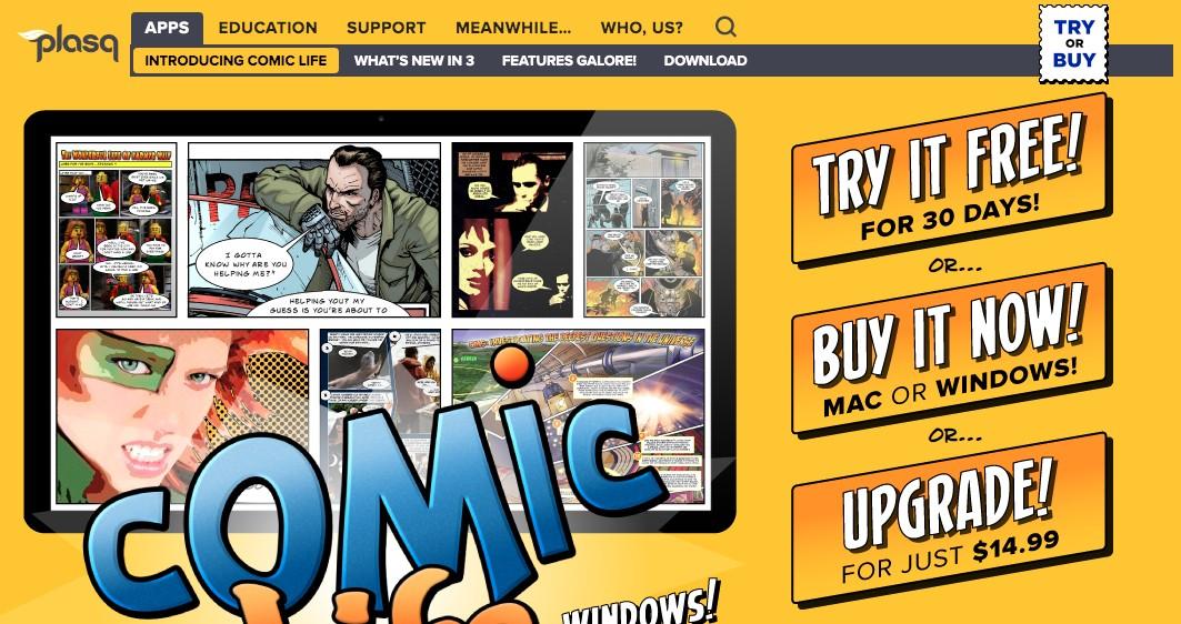 comiclife online comic maker