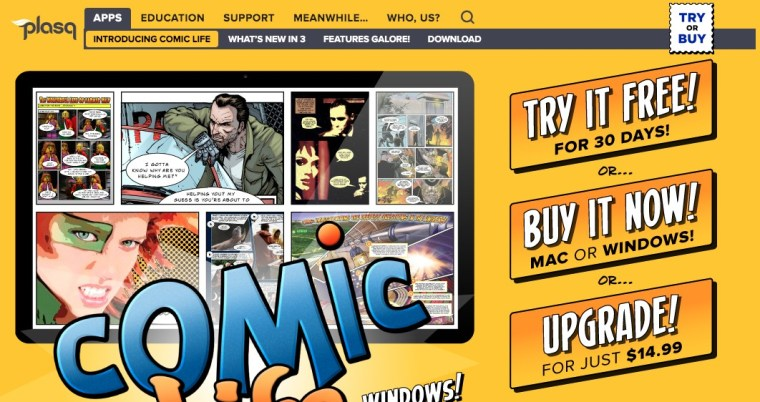 comiclife online comic maker