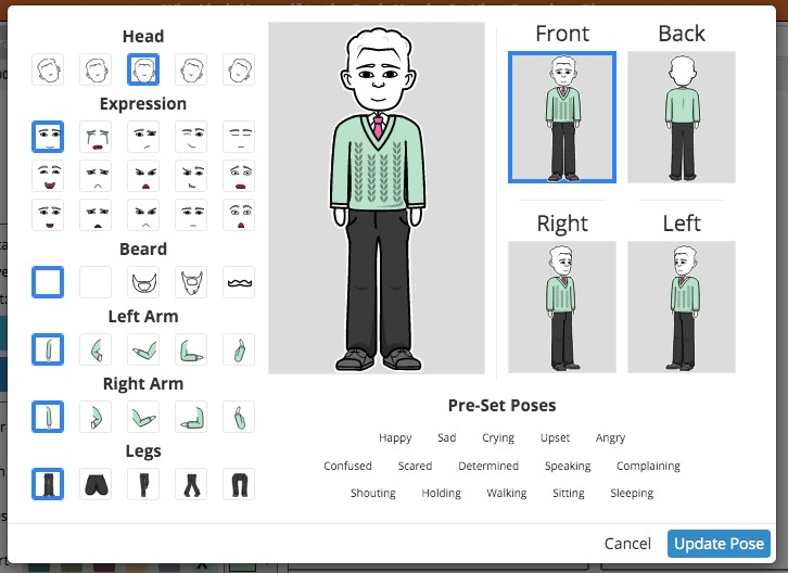 Advanced free online comic maker storyboard that
