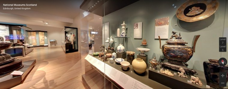 National Museum of Scotland Virtual Museum Tours for Kids