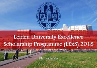 Du học Hà Lan: Học bổng du học bậc Thạc sĩ lên tới €15.000 đại học Leiden - Leiden University