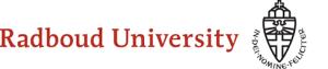 Du Học Hà Lan: Cơ hội học thạc sĩ tại trường Radboud University với mức học phí chỉ € 2,078 năm học 2019 - 2020
