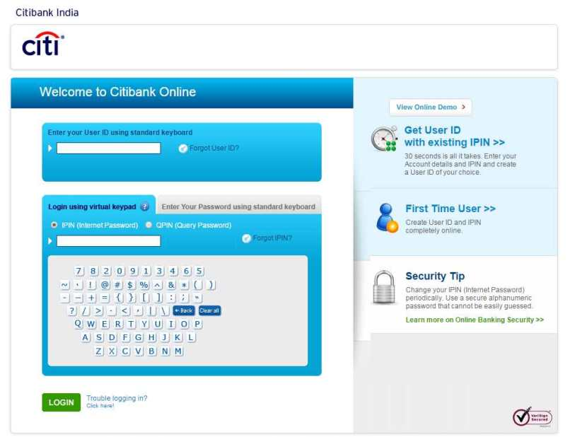 Citi Dod Travel Card Online Payment