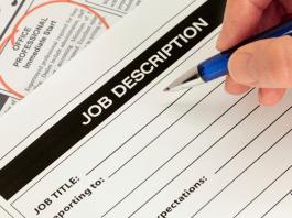 quản lý nhân sự bẳng bản mô tả công việc