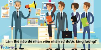 Làm thế nào để nhân viên nhân sự được tăng lương