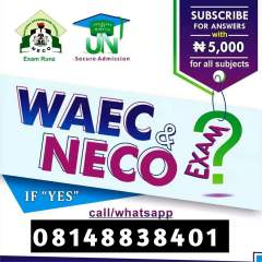 Subscribe for WAEC, NECO, NABTEB, GCE & Jamb Expo