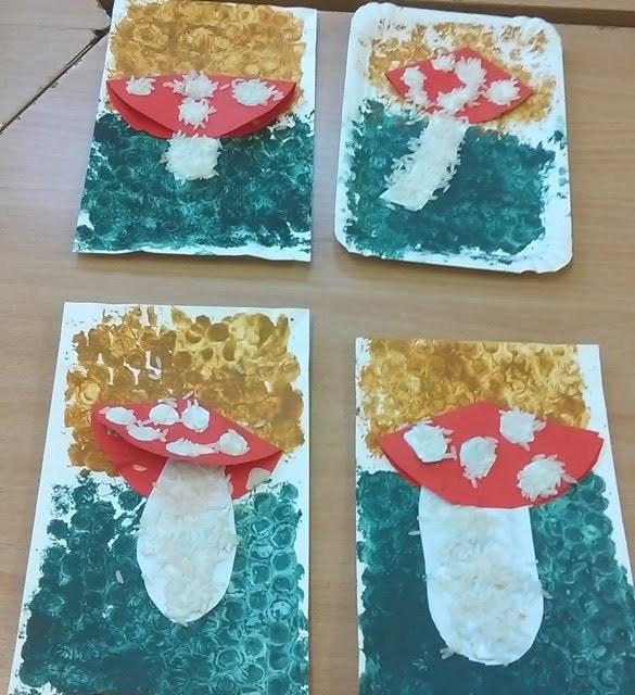 Ryżowo – bąbelkowy muchomor