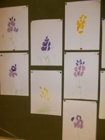 Hiacynt Joanna Chorabik Kreatywnie z dzieckiem Prace plastyczne (Wiosna) Rośliny Wiosna