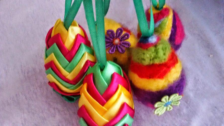 Jajko z wełny – styropianowe