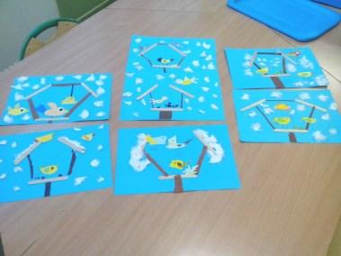 Karmnik dla ptaków z patyczków do lodów Izabela Kowalska Jesień (Prace plastyczne) Międzynarodowy Dzień Ptaków Prace plastyczne Prace plastyczne (Dzień Zwierząt) Światowy Dzień Śniegu Światowy Dzień Zwierząt Wiosna (Prace plastyczne) Zima (Prace plastyczne) Zwierzęta (Prace plastyczne)