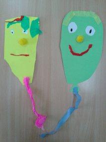 Karnawał - wycinane balony Karnawał Kreatywnie z dzieckiem Marlena Wrońska Święta