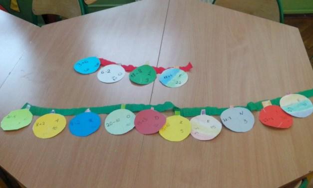 Łańcuch matematyczny (wersja świąteczna)