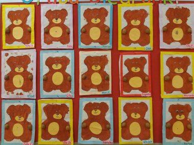 Miś - praca plastyczna Dzień Leśnika Dzień Niedźwiedzia Polarnego Dzień Pluszowego Misia Joanna Lewandowska Prace plastyczne Prace plastyczne (Dzień misia) Prace plastyczne (Dzień Niedźwiedzia Polarnego) Zwierzęta (Prace plastyczne)